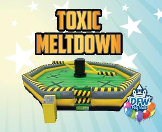 Toxic Meltdown Rental Frisco TX