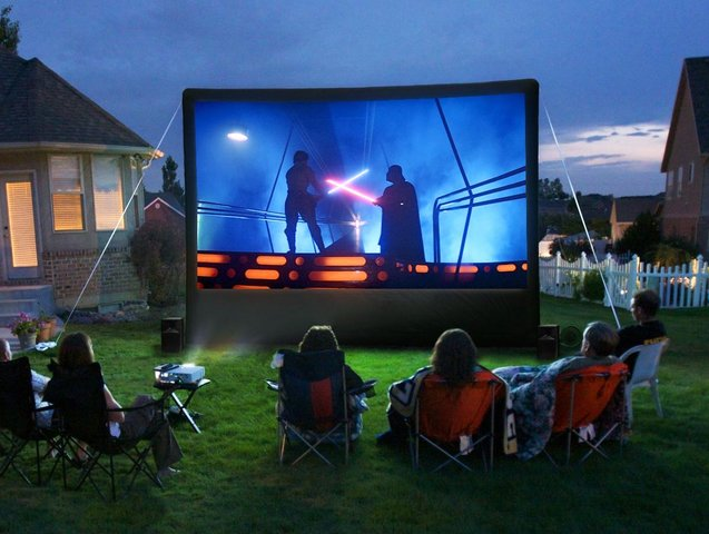 Outdoor Movie Theater Rental Near Me