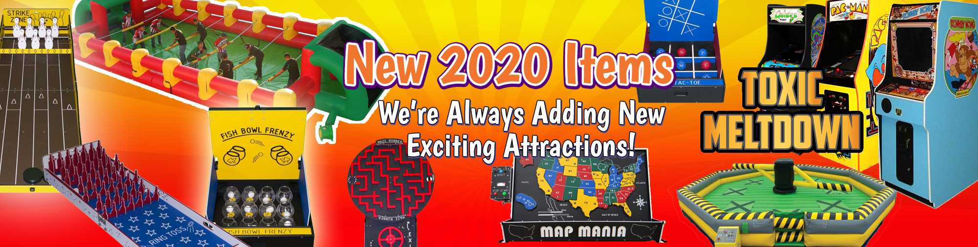 New items for 2020 Frisco TX