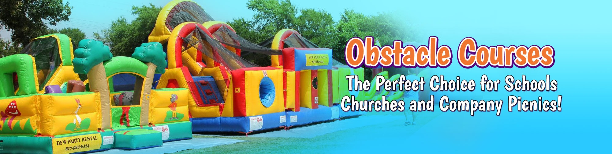 Obstacle Course Rental Slider