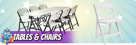 Table and Chair Rental Frisco