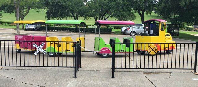 Trackless Train Party McKinney
