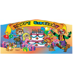 Happy Birthday Art Panel