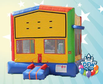 Theme-able Bounce House with Hoop
