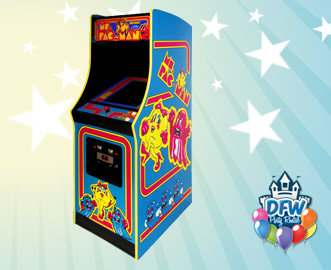 Ms Pac-Man Upright Arcade Game