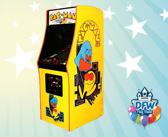 Pac-Man Upright Arcade Game