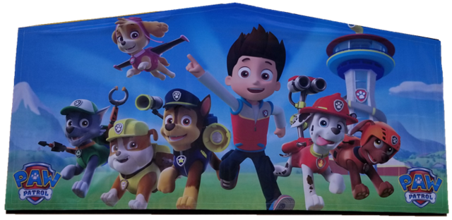 Paw Patrol Art Panel