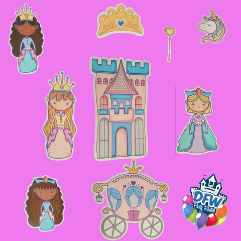 Queen Princess Half Pack Add-On Package