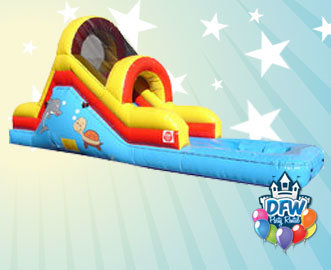 Toddler Water Slide with Pool