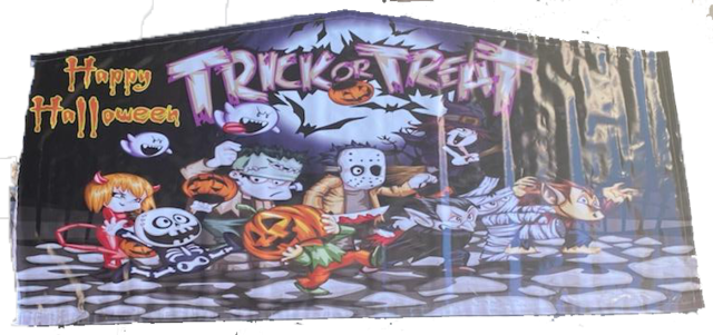 Trick or Treat Art Panel