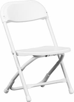 Kids folding chairs - White
