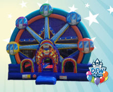 Huge Ferris Wheel Bounce House with Slide