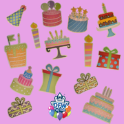 Birthday Cake and Gift Add-On Package