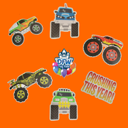 Monster Truck Half Pack Add-On Package