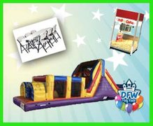 Save $50.00 On a Obstacle Course Party Package
