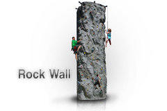 24ft. Rock Climbing Wall