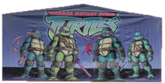 Teenage Mutant Ninja Turtles Art Panel