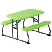 Kids Green Picnic Table