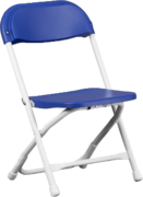 Kids folding chairs - Blue