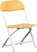 Kids folding chairs - Yellow