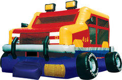 Monster Wheels Bounce House