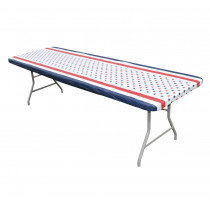 6' Patriotic Table Cover