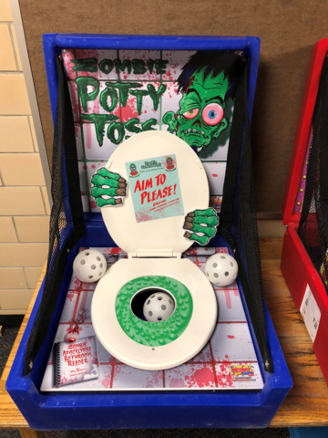 Zombie Potty Carnival Game