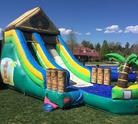 Tiki Waterslide 15'