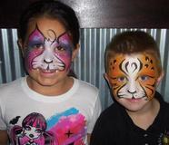 Face Painting, Air Brush & Glitter Tattoos