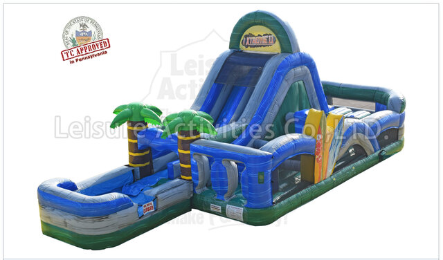 Tropical Oasis Obstacle Course Wet/Dry
