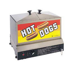 Hot Dog Steamer & Warmer