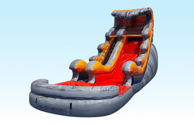 20ft Lava Wave Water Slide (can be used dry)