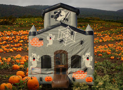 Halloween Ghost Castle Bounce House