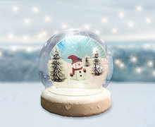 Snow Globe Light Up Halloween/Christmas/Busted (Custom)