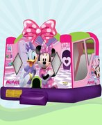 Minnie Mouse & Daisy Duck Bounce Slide Combo Wet/Dry