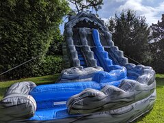 18' dual lane Avalanche waterslide