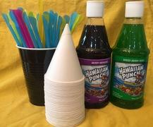additional sno cone supplies