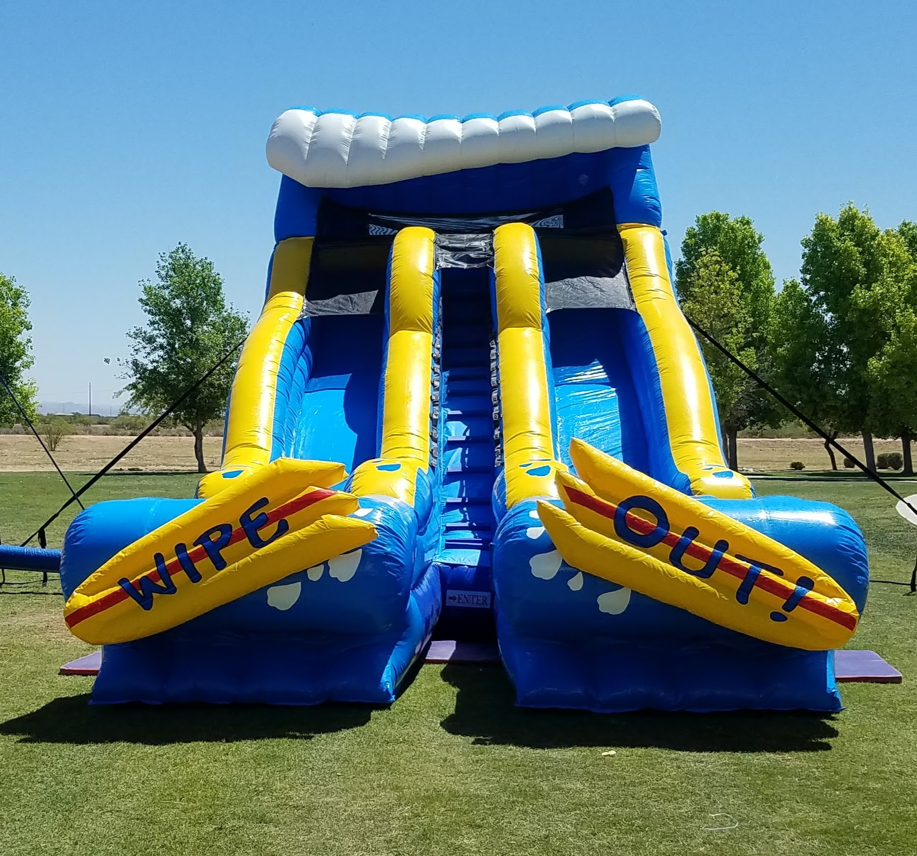 Inflatable Water Slide Az: Splash Pad Slides