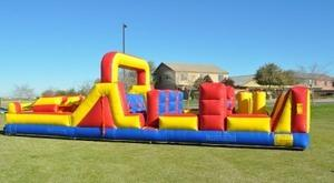 38 ft Obstacle Course