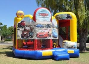 Cars 5-N-1 Combo Water Slide