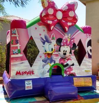 Minnie Mouse Bouncer 13x13