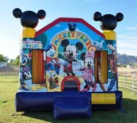 Mickey Mouse Bouncer 13x13.
