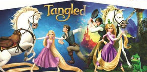 Tangled Rapunzel Panel