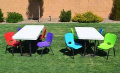 Kids Table & Chair Set (call if not renting w/inflatable)