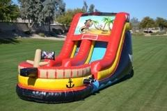 Pirate Ship Waterslide 18ft