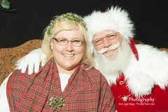 Santa Michael And Mrs. Holley Claus
