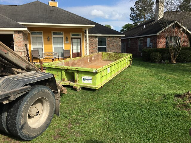 14 Yard Dirt Dumpster