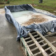 Concrete Washout Bin With Ramps