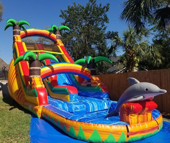 20 Ft. Taste of Paradise Waterslide