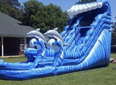Big Blue 22 Ft. Water Slide